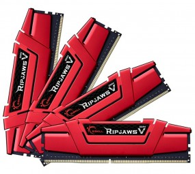 G.Skill DIMM 288-Pin 16 GB DDR4-2800 Ripjaws V Quad-Kit, RAM