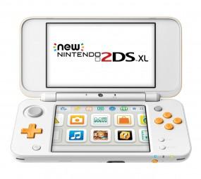 Nintendo New 2DS XL, Spielkonsole (weiß)