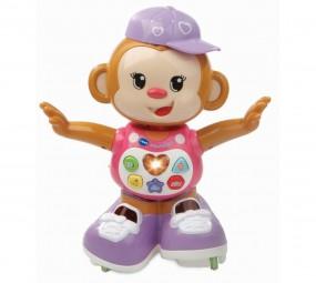 VTech Baby - Lustiges Tanzäffchen pink, Motorikspielzeug