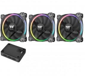 Thermaltake Riing 12 LED RGB TT Premium Edition 3-Fan Pack, Gehäuselüfter