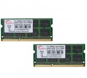 G.Skill SO-DIMM 8 GB DDR3-1600 Kit, RAM