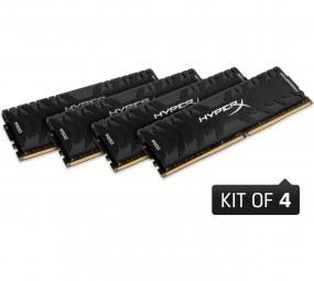 Kingston HyperX DIMM 32 GB DDR4-2666 Predator Quad-Kit, RAM