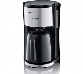 Severin KA 9251, Kaffeemaschine (edelstahl, schwarz)