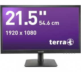 Wortmann TERRA 2226W black HDMI GREENLINE PLUS, LED-Monitor