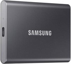 Samsung Portable SSD T7 1TB grau, Externe SSD