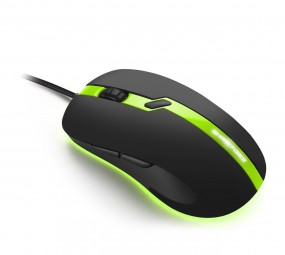 Sharkoon SHARK FORCE PRO green, Maus