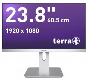 Wortmann TERRA 2462W PV silber DP/HDMI, LED-Monitor