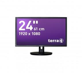 Wortmann TERRA 2435W HA schwarz DP+HDMI, LED-Monitor